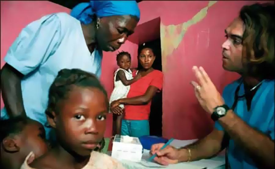 Kubanska medicinska pomoć Haitiju