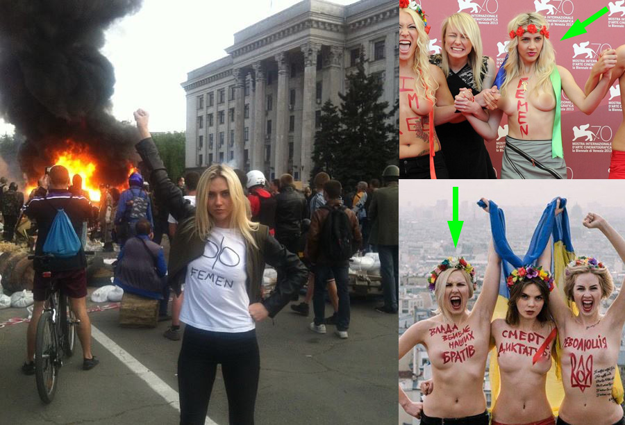 femen i Odesa masakr