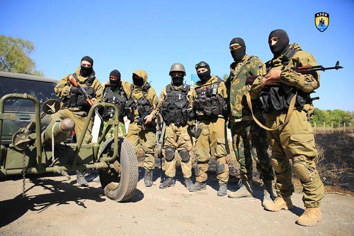 Ukrajinski bataljun Azov sa nacističkim obilježima uživa podršku njemačkih i američkih medija