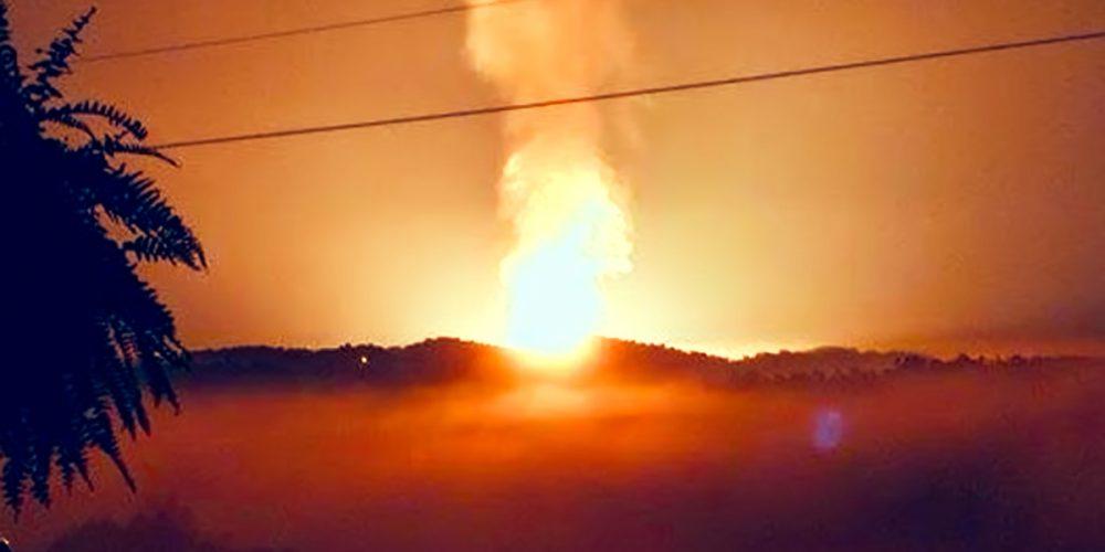 Upravo eksplodirao plinovod u Americi