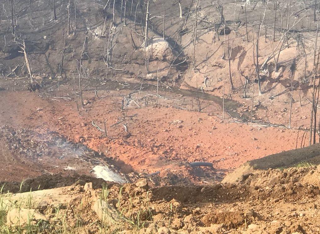 Nakon eksplozoje plinovoda u Zapadnoj Virginiji - snimka iz drona