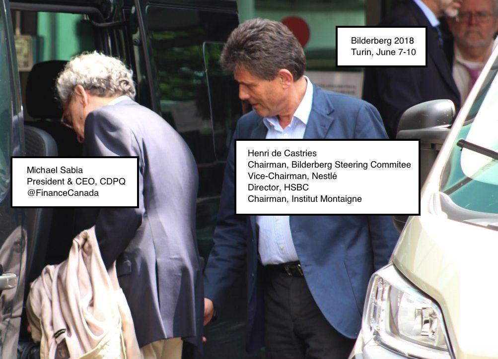 Sam Bilderboss, sveprisutni Henri de Castries (potpredsjednik, Nestlé, direktor HSBC-a